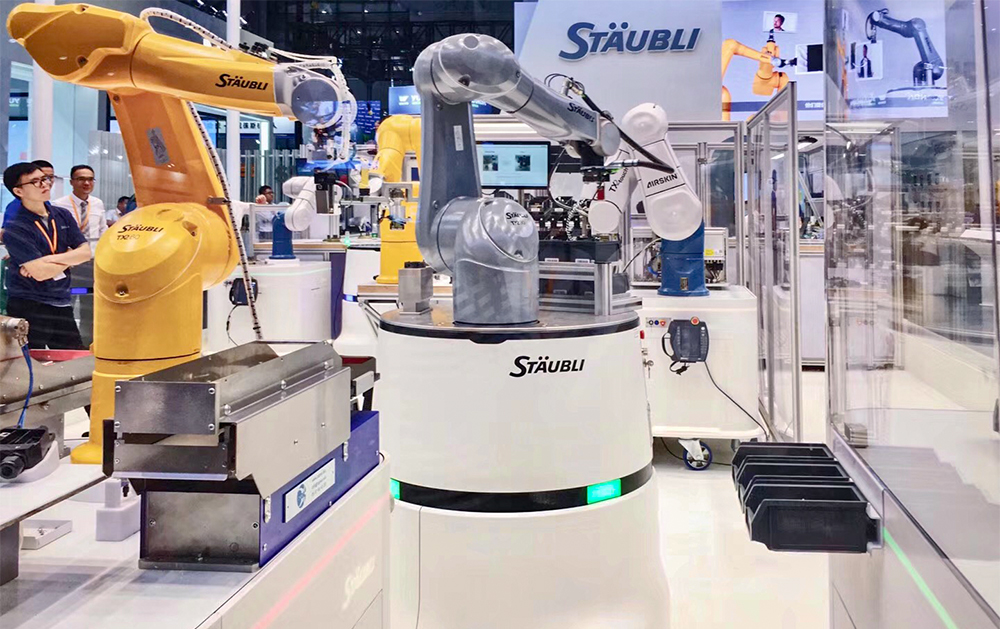 Stäubli smart production at CIIF 2018